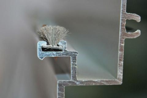 Phớt nỉ cửa nhôm 5.5mm TGL 5565 2FP50 GY